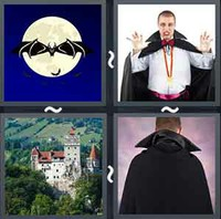 4 Pics 1 Word Levels Dracula