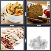 4 Pics 1 Word Levels Carbs