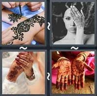 4 Pics 1 Word Levels Henna