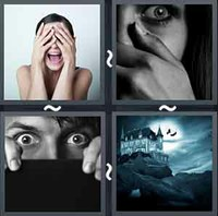 4 Pics 1 Word Levels Terror