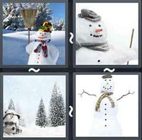 4 Pics 1 Word Levels Snowman