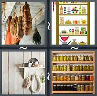 4 Pics 1 Word Levels Pantry