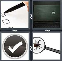 4 Pics 1 Word Levels Tick