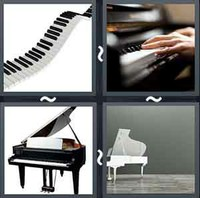 4 Pics 1 Word Levels Piano