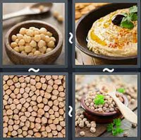 4 Pics 1 Word Levels Chickpea