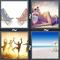 4 pics 1 word answers 5 letters pt 34 whats the word answers 4 pics 1 word beach expocarfo Gallery