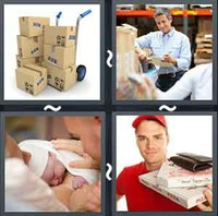 4 Pics 1 Word Delivery