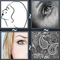 4 Pics 1 Word Teardrop