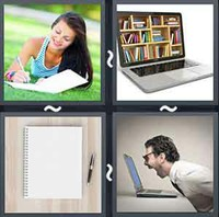 4 Pics 1 Word Notebook