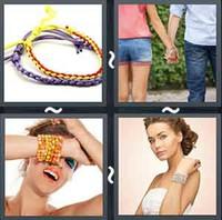 4 Pics 1 Word Bracelet