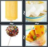 4 Pics 1 Word Popsicle