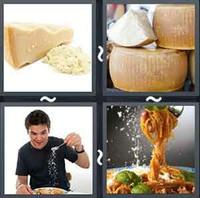 4 Pics 1 Word Parmesan