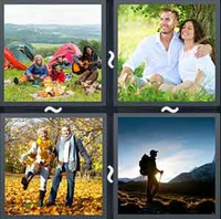 4 Pics 1 Word Outdoors