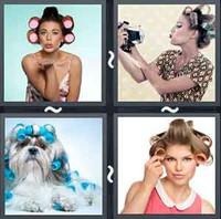 4 Pics 1 Word Roller s