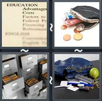 4 Pics 1 Word Contents