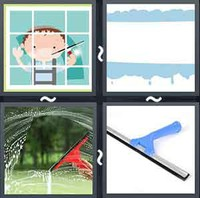 4 Pics 1 Word Squeegee