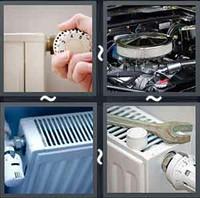 4 Pics 1 Word Radiator