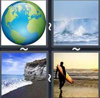 4 Pics 1 Word Atlantic