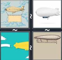 4 Pics 1 Word Zeppelin