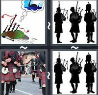 4 Pics 1 Word Bagpipes