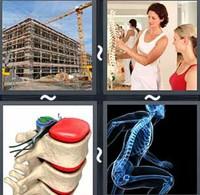 4 Pics 1 Word Skeleton