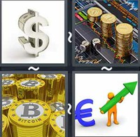 4 Pics 1 Word Currency