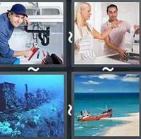 4 Pics 1 Word Levels Sink