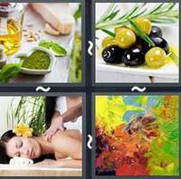 4 Pics 1 Word Levels Oil