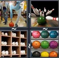 4 Pics 1 Word Levels Bowling