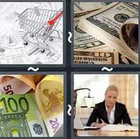 4 Pics 1 Word Levels Bill