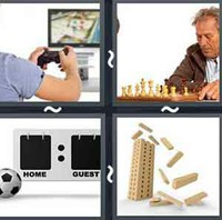 4 Pics 1 Word Levels Game