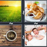 4 Pics 1 Word Levels Morning