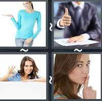 4 Pics 1 Word Levels Gesture