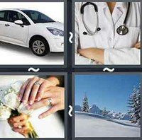 4 Pics 1 Word Levels White