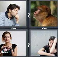 4 Pics 1 Word Levels Sad