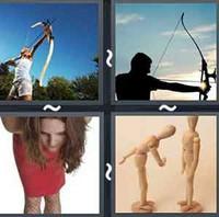 4 Pics 1 Word Levels Bow