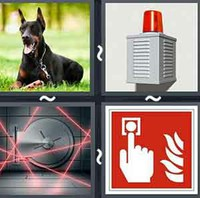 4 Pics 1 Word Levels Alarm