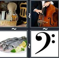 4 Pics 1 Word Levels Bass