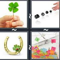 4 Pics 1 Word Levels Luck
