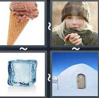 4 Pics 1 Word Levels Cold