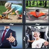 4 Pics 1 Word Levels Push