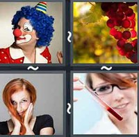 4 Pics 1 Word Levels Red