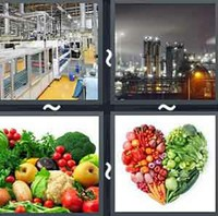 4 Pics 1 Word Levels Produce