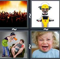 4 Pics 1 Word Levels Loud