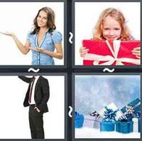 4 Pics 1 Word Gesture