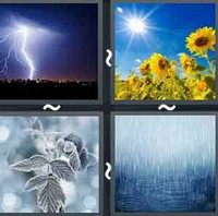 4 Pics 1 Word Weather