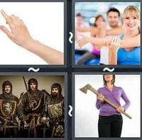 4 Pics 1 Word Arm