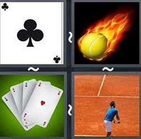 4 Pics 1 Word Ace