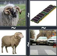 4 Pics 1 Word Ram