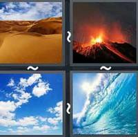4 Pics 1 Word Elements